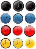 хронометрируйте стену вектора Стоковое Изображение RF