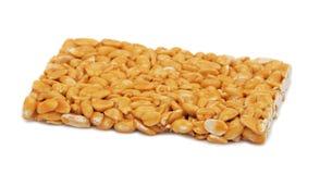 хрупкий изолированный арахис Стоковая Фотография RF