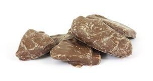 хрупкий шоколад покрыл арахис Стоковое Фото