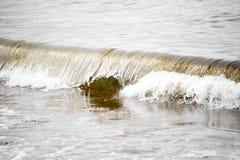Хрустящие волны Стоковые Изображения