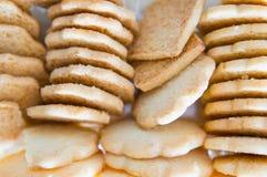 Хрустящие печенья Стоковые Фото