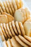 Хрустящие печенья Стоковое Фото