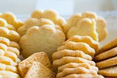 Хрустящие печенья Стоковая Фотография