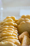 Хрустящие печенья Стоковые Изображения