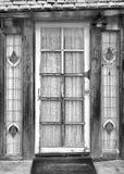 Художественная дверь входа стоковые изображения