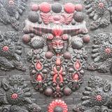 Художественное произведение на стене в Лондоне стоковое фото