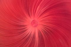 Художественное произведение с красной кнопкой и красной тканью Стоковые Изображения RF