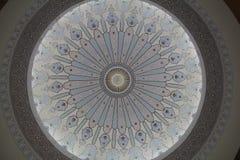 Художественный купол мечети стоковые фотографии rf