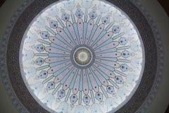 Художественный купол мечети стоковое фото rf