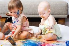 художники молодые Стоковые Фото