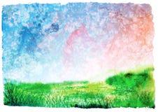 художническая весна предпосылки Стоковые Изображения