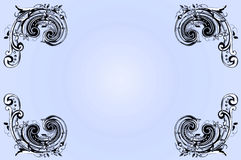 художническая граница предпосылки Стоковые Фотографии RF