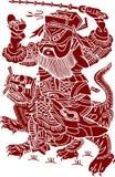 художническая китайская картина Стоковые Изображения RF