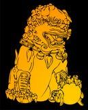 художническая китайская картина Стоковая Фотография RF
