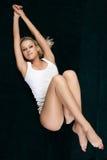 художническая красивейшая женщина съемки Стоковая Фотография
