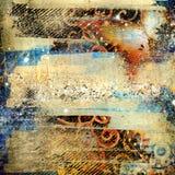 художническая предпосылка грязная Стоковое Изображение