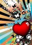 художническая предпосылка цветастая Стоковое Изображение RF