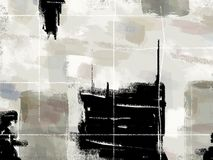 художническая предпосылка Стоковое Изображение RF