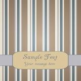 художническая striped предпосылка Стоковая Фотография RF