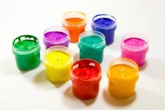 художнические краски Стоковое фото RF