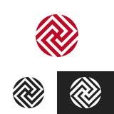 Художнический дизайн логотипа Стоковые Изображения