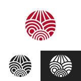 Художнический дизайн логотипа Стоковая Фотография RF