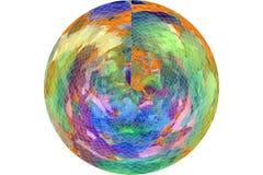 Художнический тип grunge, грубых или ретро круга или сферы overlay конспект предпосылки влияния фильтра Цвет, пакостный, крышка & бесплатная иллюстрация