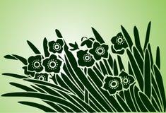 художнический цветок Стоковое фото RF