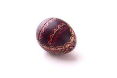 художнически покрашенное пасхальное яйцо Стоковая Фотография