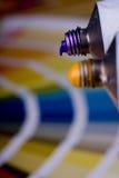 художническое оборудование цвета диаграммы стоковое фото