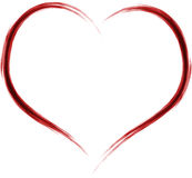 художническое сердце иллюстрация штока