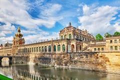 Художественная галерея дворца Zwinger (Der Dresdner Zwinger) Дрездена, wh Стоковая Фотография