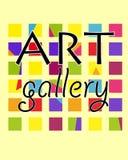 Художественная галерея плаката Стоковые Изображения RF