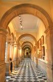 Художественная галерея Kelvingrove и музей, Глазго, Шотландия Стоковое фото RF