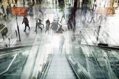 Художественное произведение двойной экспозиции Ndoor Hauptbahnhof Берлина Стоковые Изображения RF