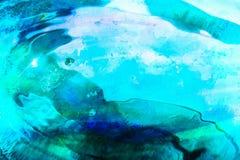Художественное произведение воды Стоковое фото RF