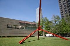 Художественное произведение на музее изобразительных искусств Далласа Стоковые Изображения RF