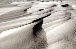 Художественное произведение снега Стоковое Фото