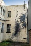 Художественное произведение Banksy Стоковое Изображение RF