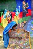 Художник женщины стоковое фото