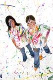 художник предназначенный для подростков Стоковое Фото