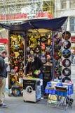 Художник 2 уличного торговца Мельбурна стоковые фотографии rf
