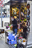 Художник уличного торговца Мельбурна стоковые изображения