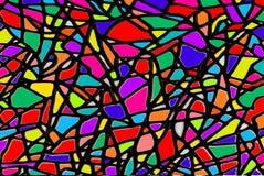 Художническая иллюстрация витража Стоковая Фотография RF