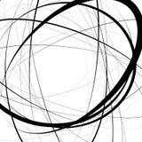 Художническая иллюстрация с напряжённое случайным, линии сложной формы Ge Стоковое фото RF