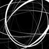 Художническая иллюстрация с напряжённое случайным, линии сложной формы Ge Стоковые Фото