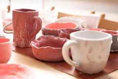 художническая керамика стоковое фото
