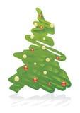 художническая рождественская елка Стоковое фото RF