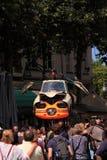 Художнический автомобиль строения Стоковые Фотографии RF