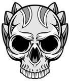 Художнический череп 69 Стоковое Фото